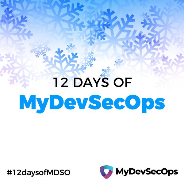Image of 12 Days of MyDevSecOps begins