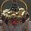 Thumbnail: Crackle Crystal Quartz Bottle Pendant Necklace