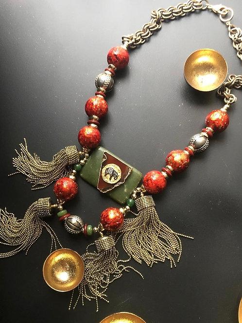Tembo Tassel Necklace