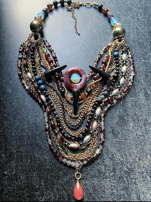 Dashiki Layered Necklace