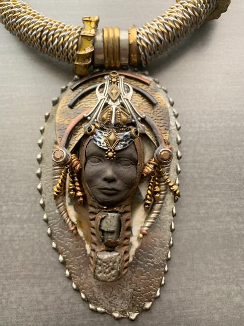 Afrofuturisim Necklace V1