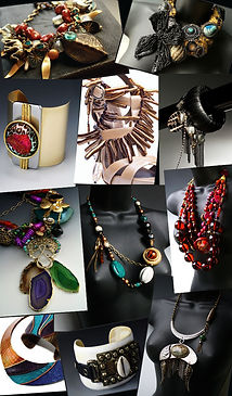 African inspired handmade jewelry by Lunaversoul