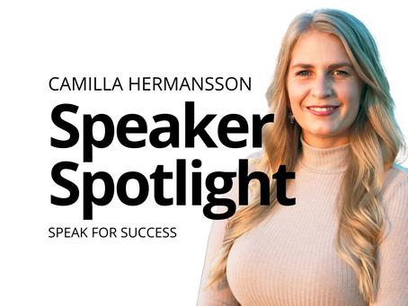 Speaker Spotlight: Camilla Hermansson
