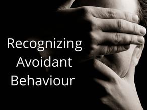 Recognizing Avoidant Behaviour