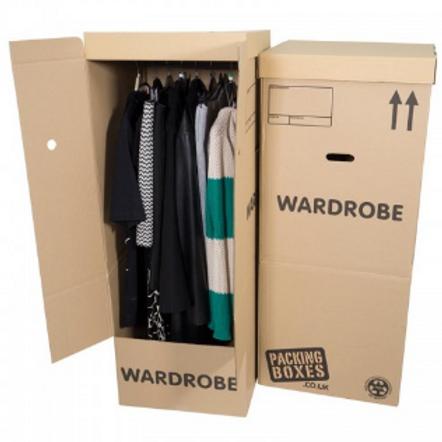 x3 Wardrobe Boxes