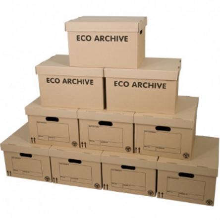 Caja de archivo ecológico x10