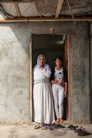 Yazidi Women in White