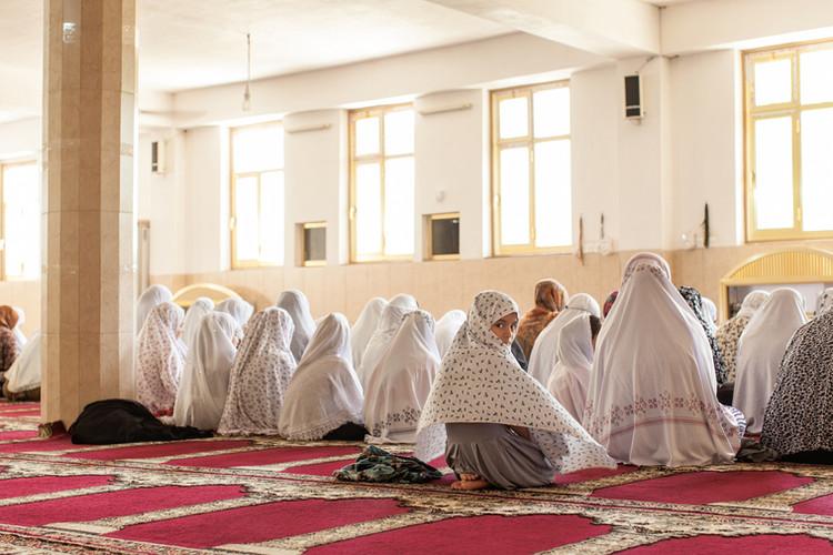 Women at Friday Prayer