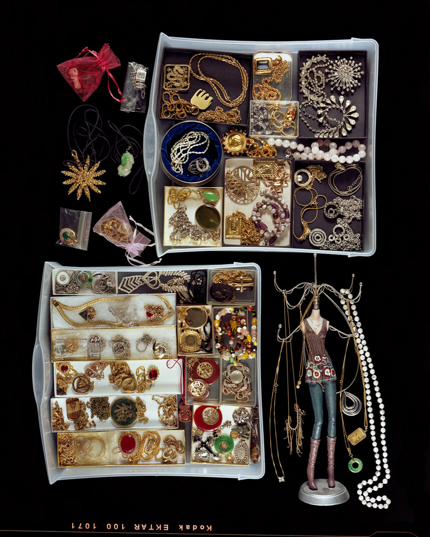 Mothers Love Eighty-Four Necklaces Stored