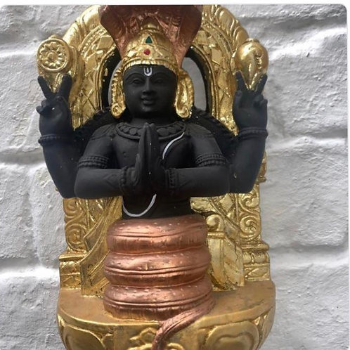 "Patanjali Statue Gold 10""from Pune 10"""