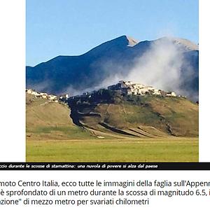 Italy's Earthquakes