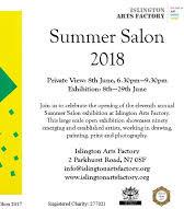 Islington Summer Salon 2018