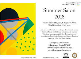 Islington Summer Salon 2018