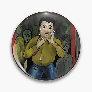 Claude pin badge