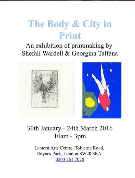 The Body and City in Print