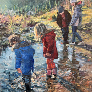 Frozen Puddles - Catherine Corfield