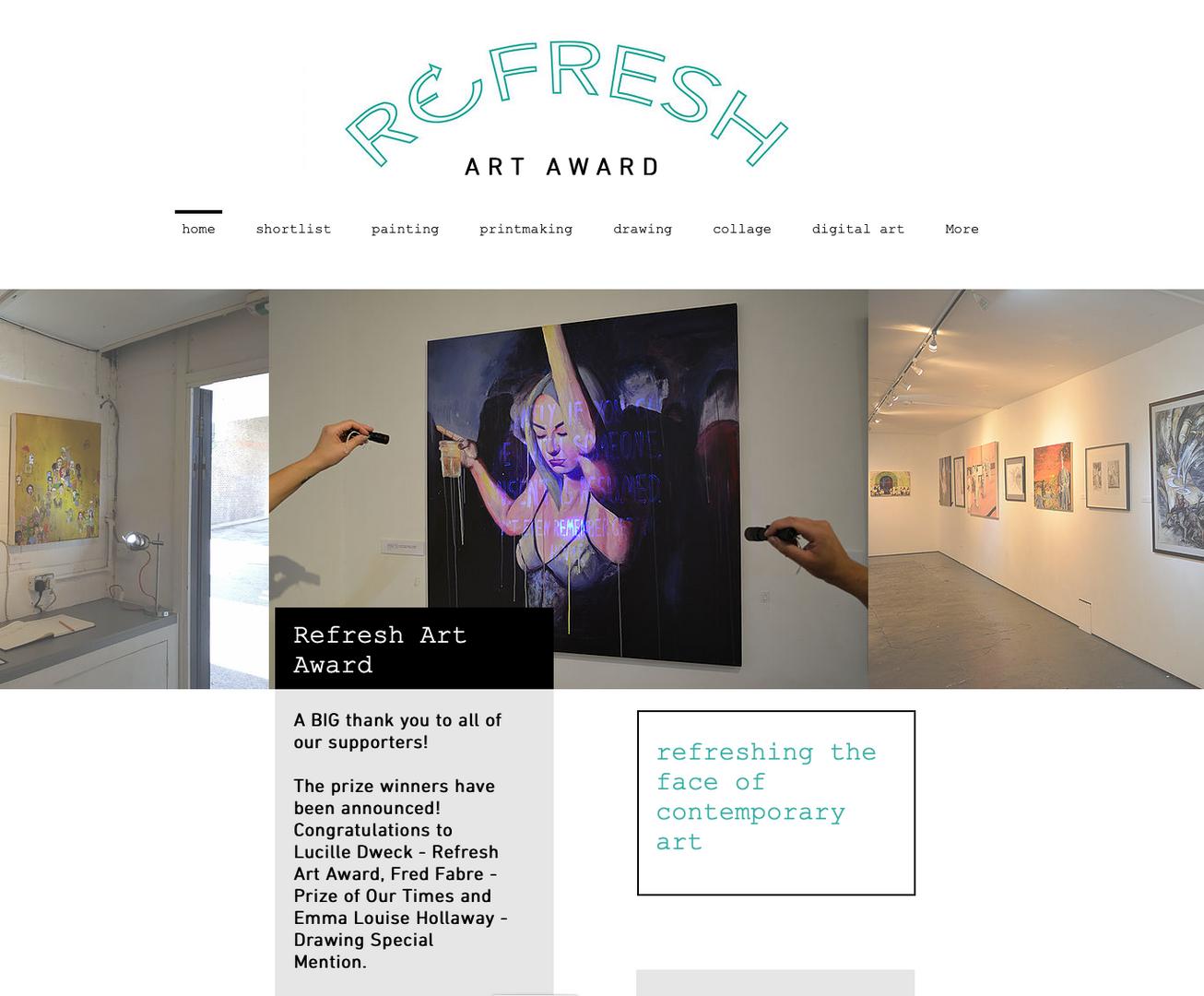 Refresh Art Award 2019