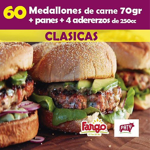 Medallones x 60 PATY