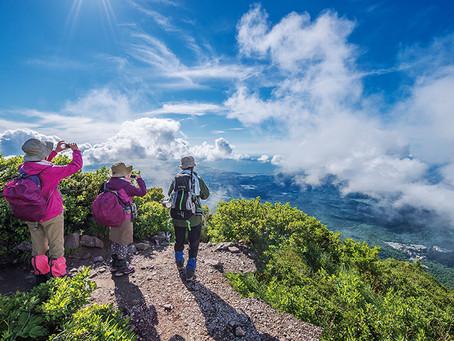 [登山]山頂からの眺望は360°登山