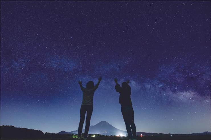 [星空ツアー] 大山星空で遊ぶツアー