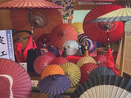 [和傘づくり] 伝統の職人技を体験する