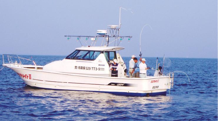 [観光フィッシング] クルージングと釣りが楽しめる