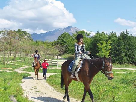[大山乗馬センター]憧れの乗馬を体験する