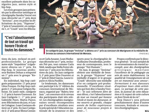 STEP DANCE'S REMPORTE LE PRIX DE L' EDUCATION NATIONALE