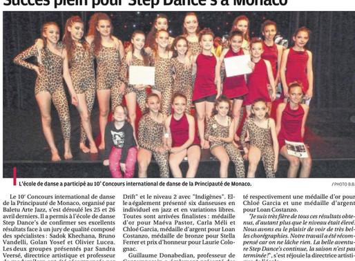 STEP DANCE'S A MONACO