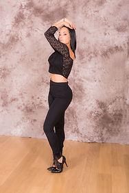 Sandra Veersé lady style step dance's saint victoret marignane
