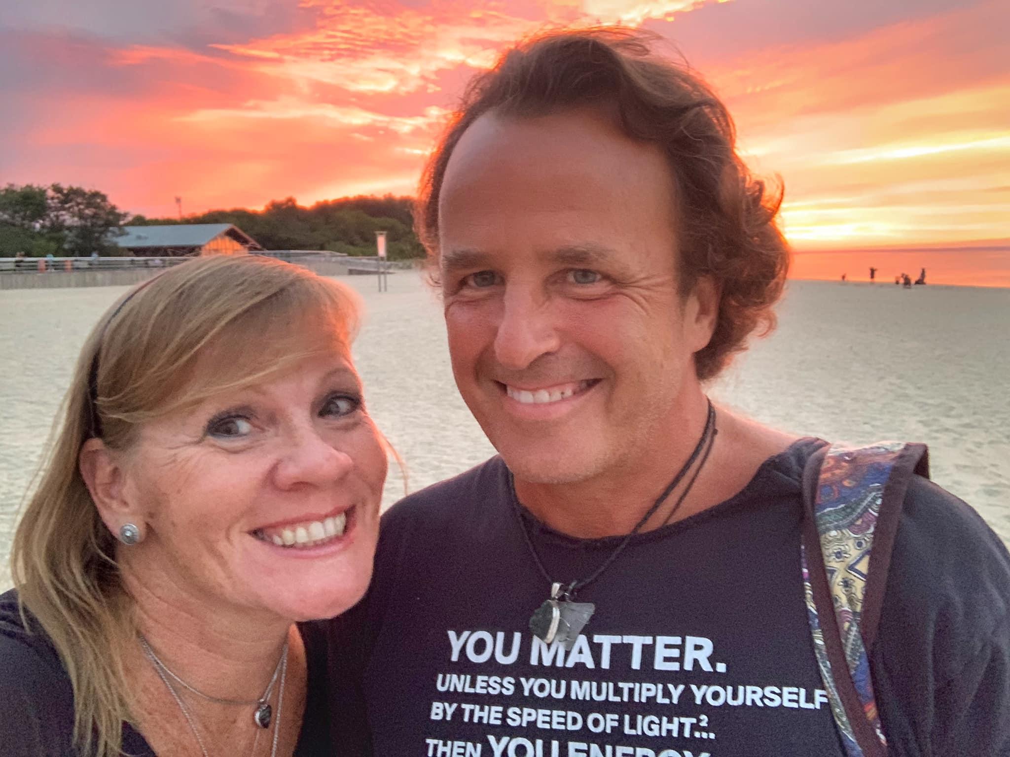 Steve Weber and Kathie Plant