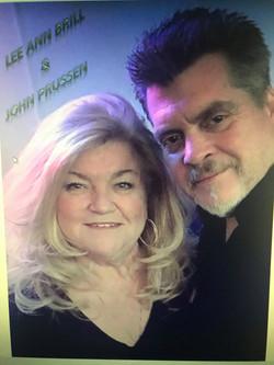 John Prussen and Lee Ann Brill