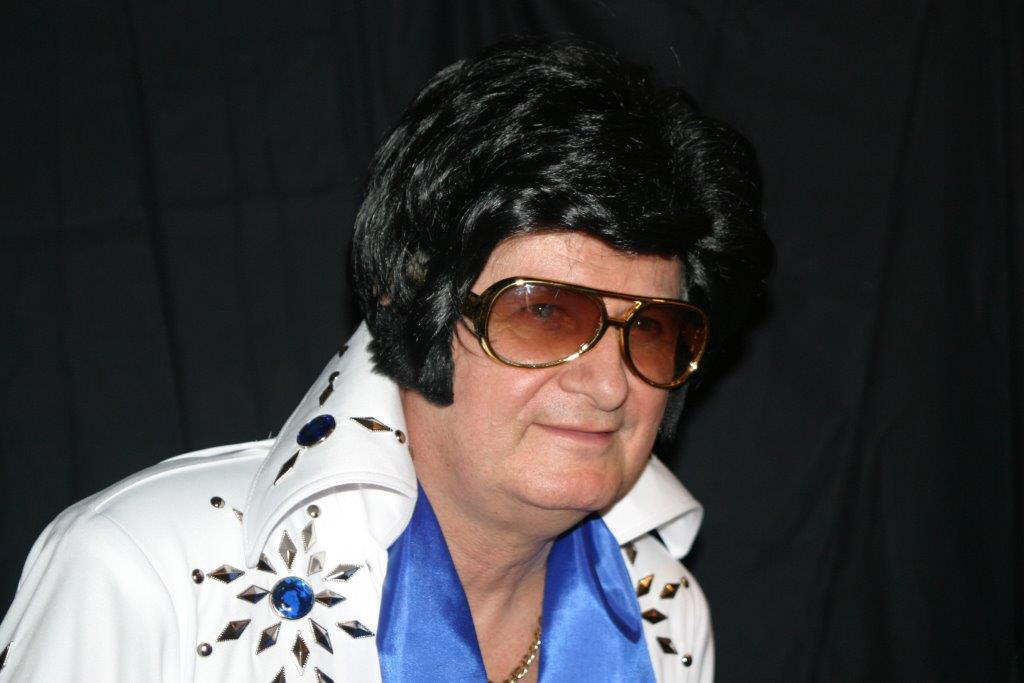 Andrew G. Ratway Performs As Elvis..