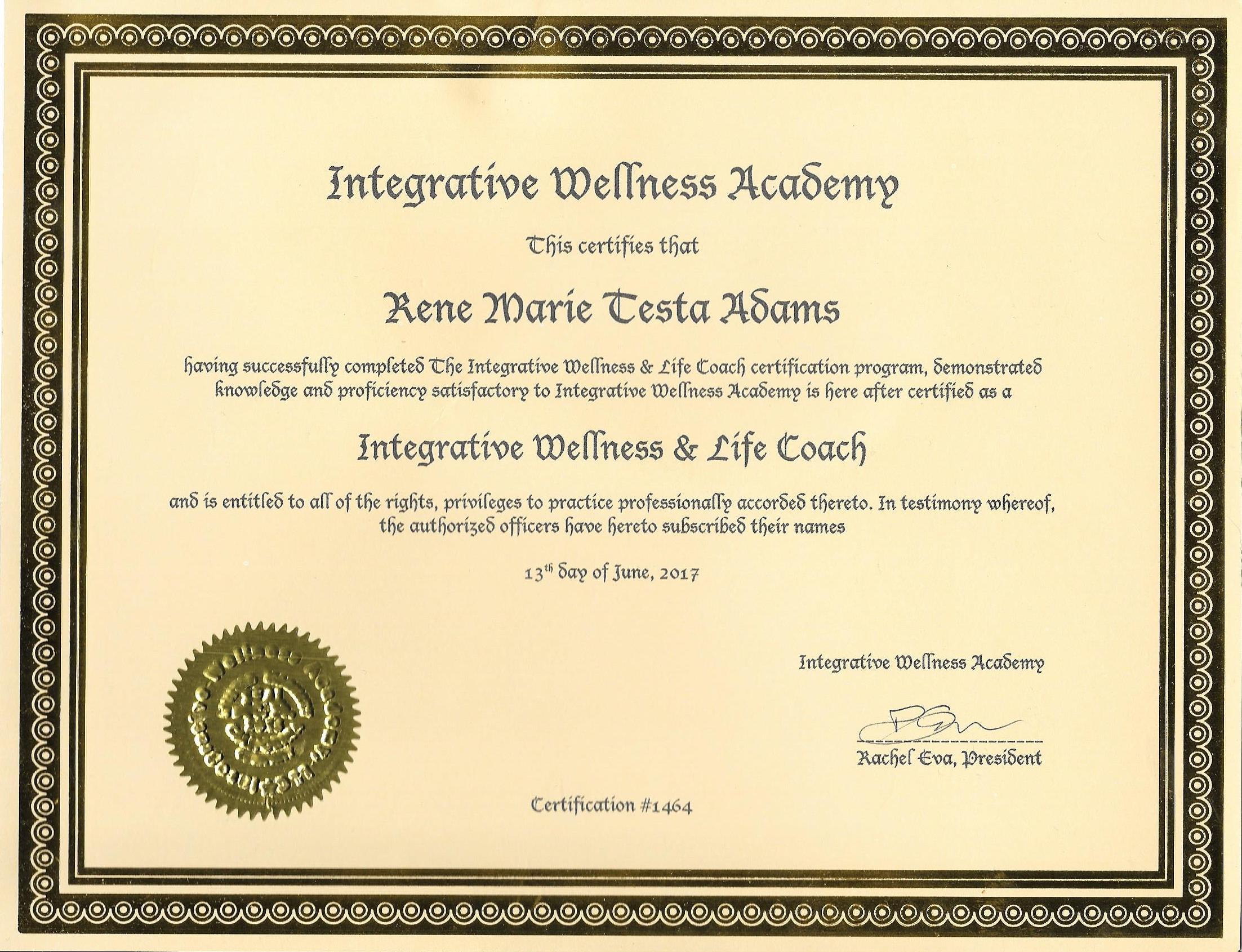 Integrative Wellness Academy