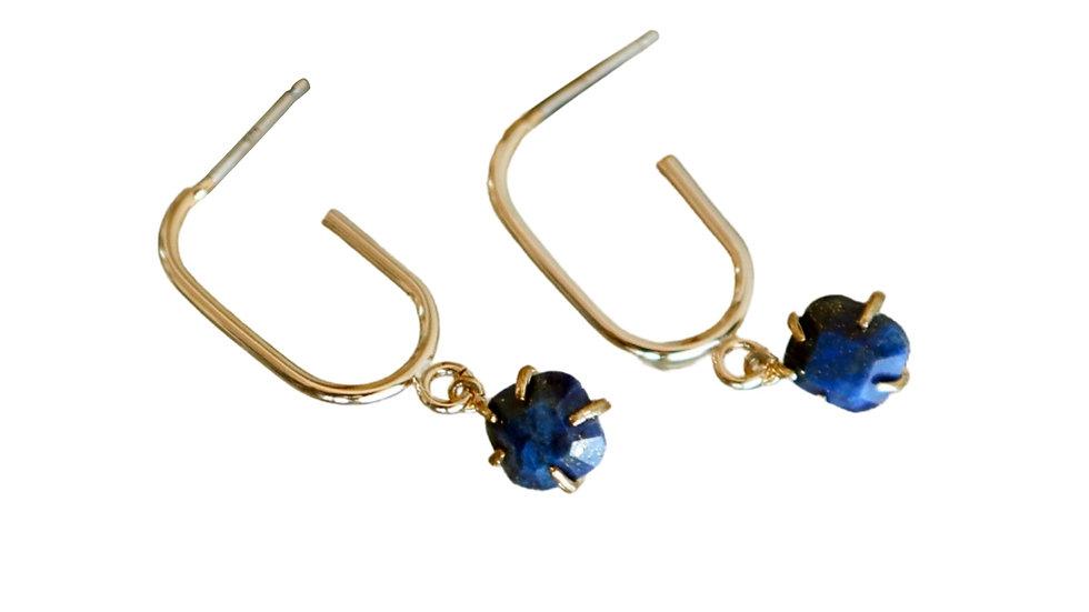 Simple Hoop Drop Earring