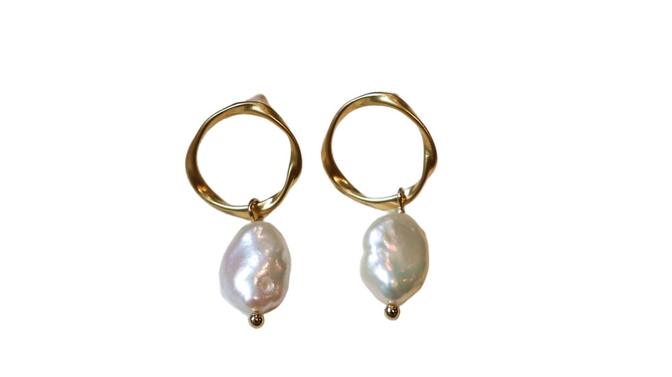 Time Pearl Earrings