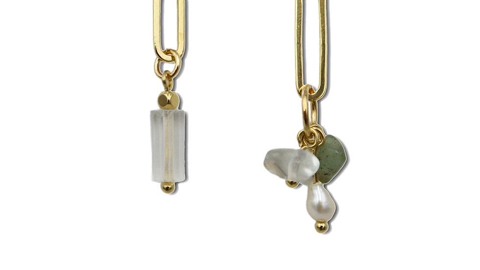 Freesia Crystal Earrings