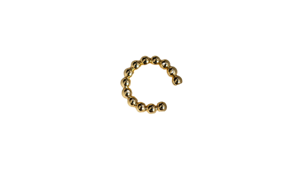 Ball Chain Ear Cuff