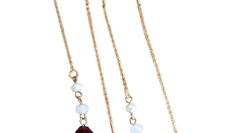 Garner Threader Earrings