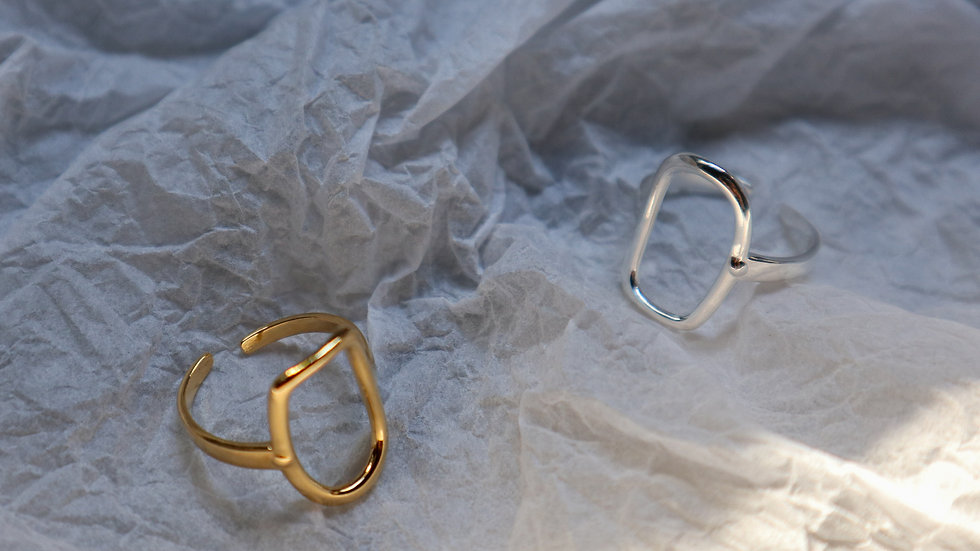 Boho Sterling Silver Ring