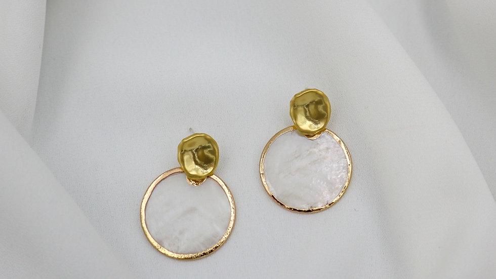TK Mother of Pearl Earring