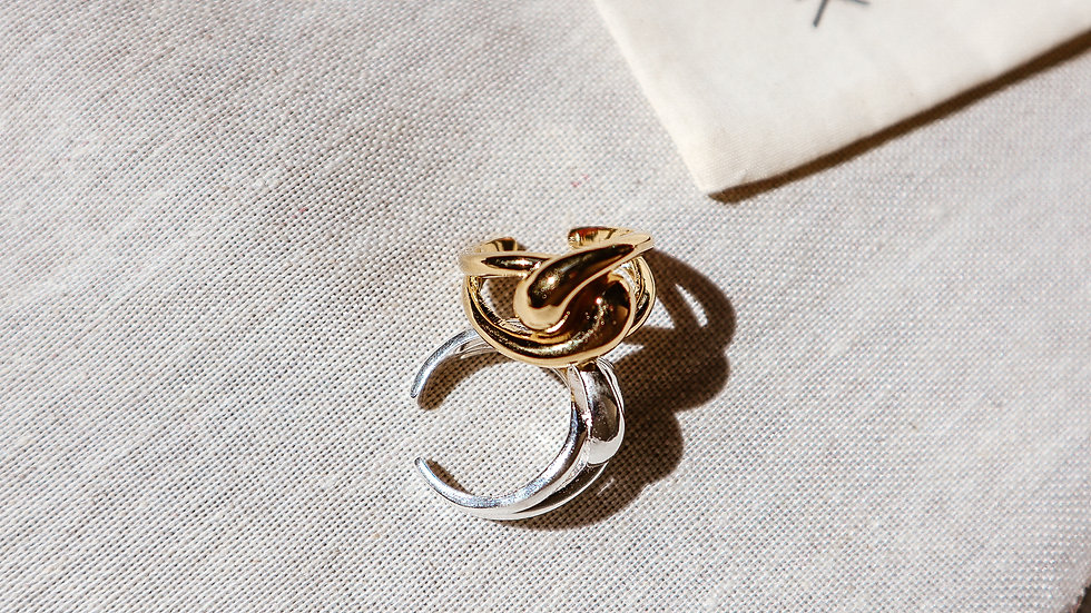 Link Sterling Silver Ring