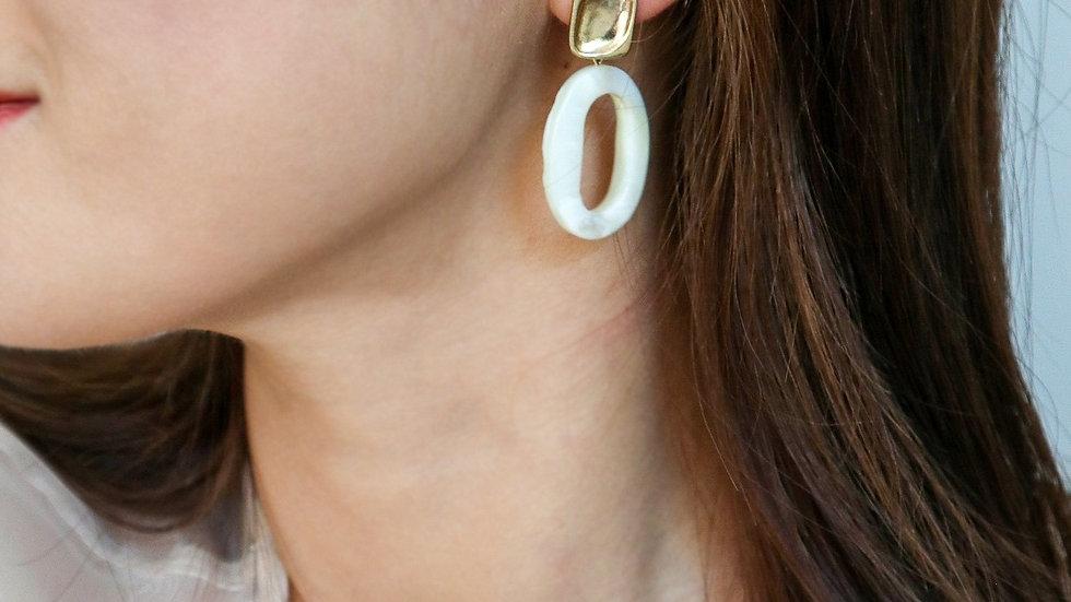 Doona Mother of Pearl Earrings