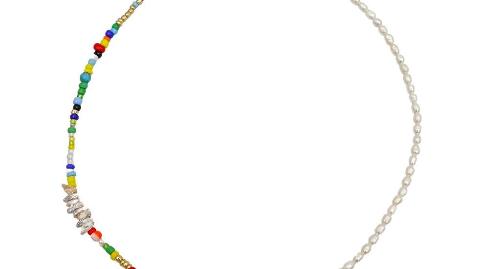 Multi Pearl Necklace