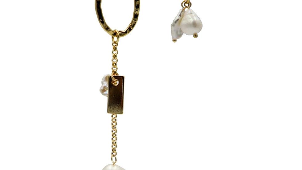 Bouquet Pearl Earrings
