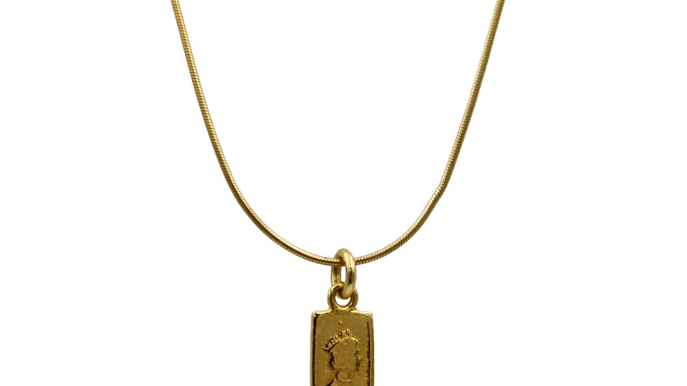 SGN03 Vintage 925 Silver Necklace