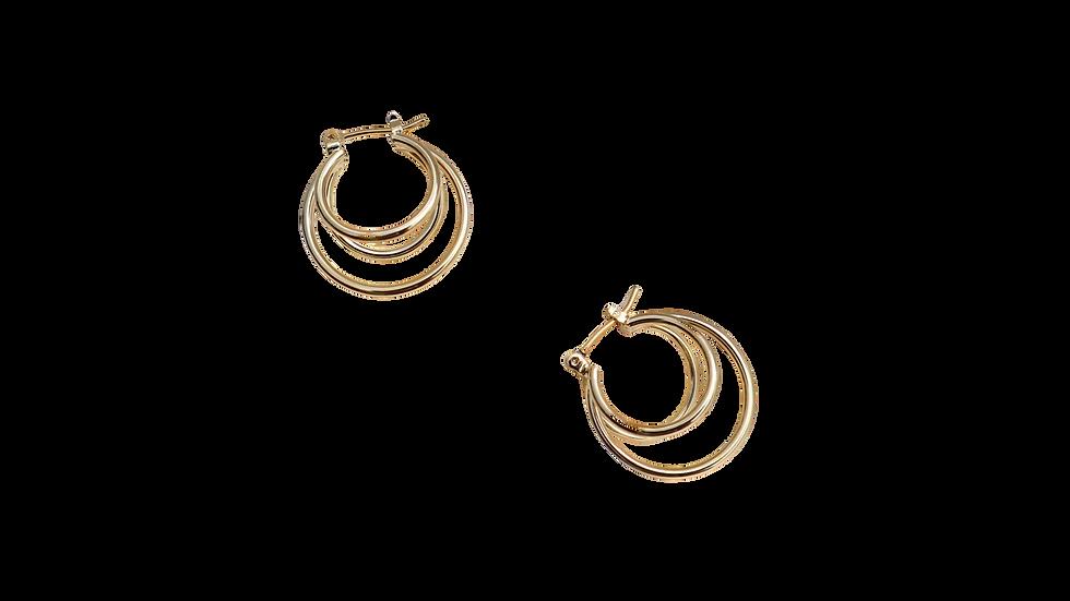 Maki Hoop Earring