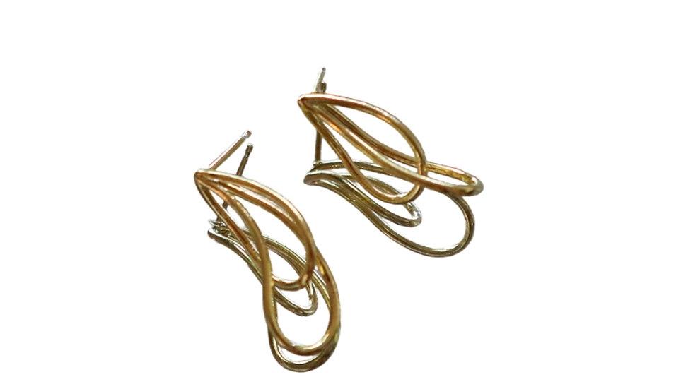 SGN37 Silver Earrings