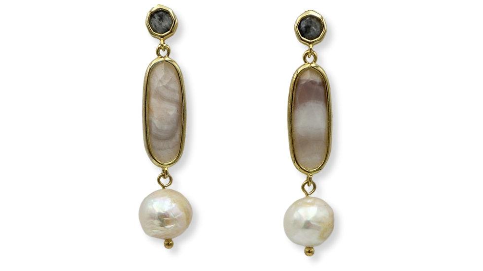 Doona Labradorite Drop Earrings