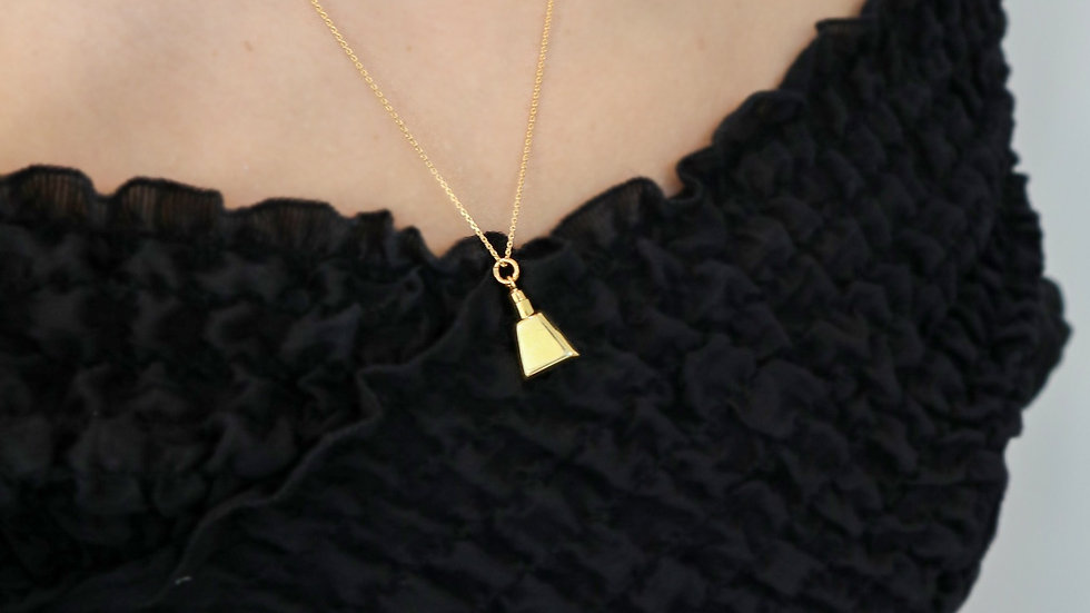 SGN42 Silver Necklace - Gold